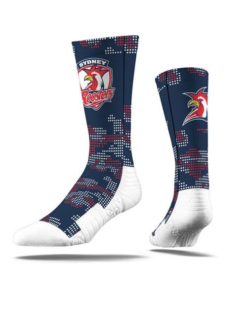Sydney Roosters Strideline Camo Crew Socks