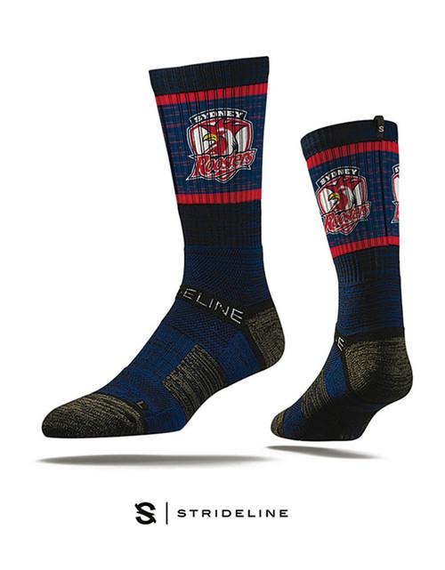 Sydney Roosters Strideline Premium Crew Socks