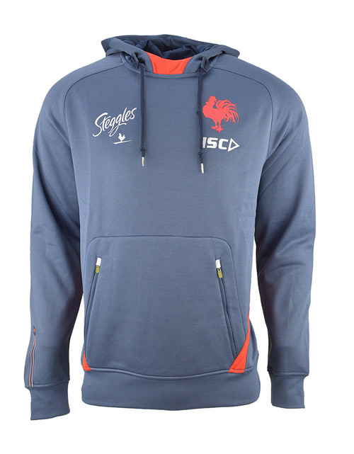 82c41e804a91 Sydney Roosters 2019 ISC Mens Squad Hoody - Steel