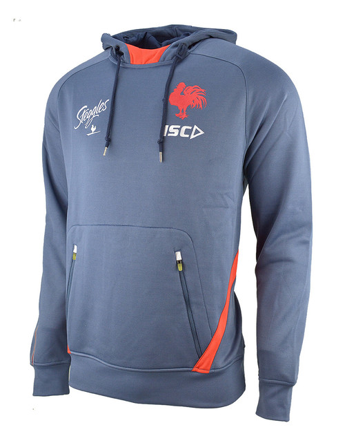 Sydney Roosters 2019 ISC Mens Squad Hoody - Steel