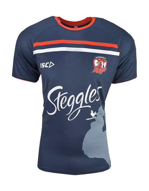 db110a24c Sydney Roosters 2019 ISC Mens Run Out Top