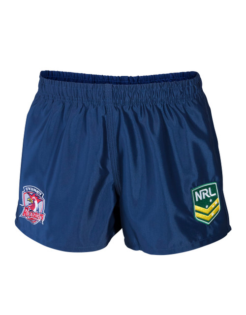 Sydney Roosters Mens Classic Supporter Shorts Navy