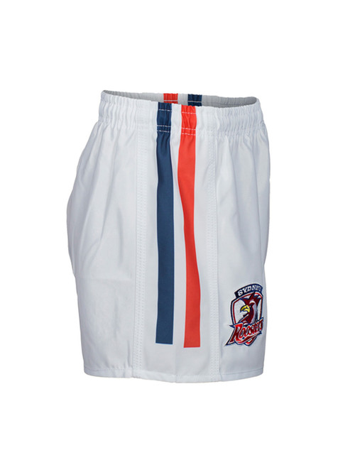 Sydney Roosters Kids Classic Supporter Shorts White
