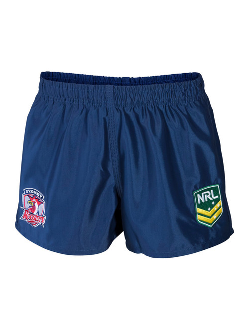 Sydney Roosters Kids Classic Supporter Shorts Navy