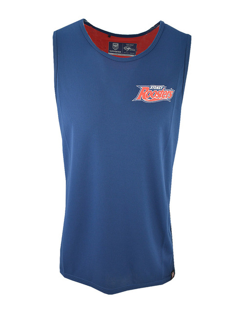 Sydney Roosters 2019 Kids Classic Performance Singlet