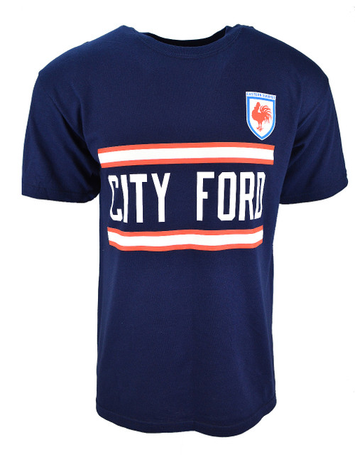 Sydney Roosters Mens Retro Tee - City Ford