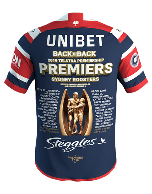 Sydney Roosters 2019 ISC Womens Premiers Jersey