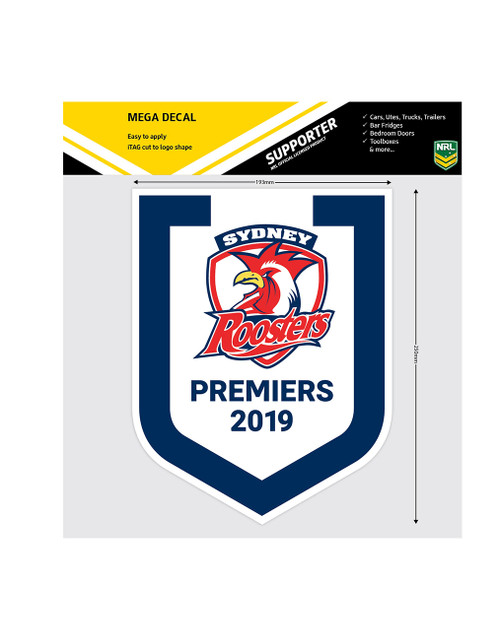 Sydney Roosters 2019 Premiers Mega Decal