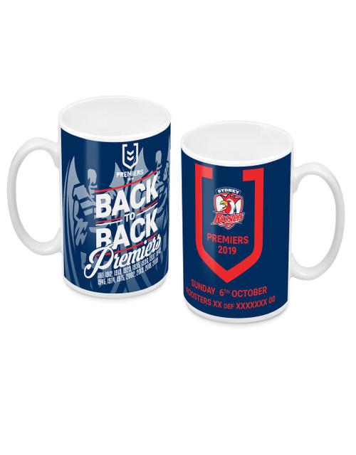 Sydney Roosters 2019 Premiers Mug