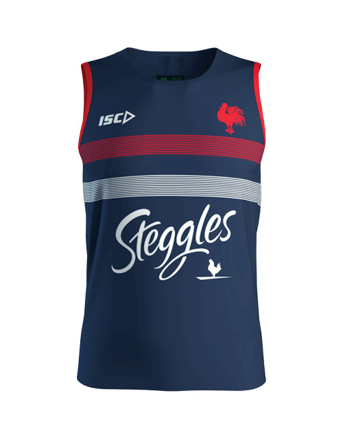 Sydney Roosters 2020 ISC Mens Training Singlet Navy