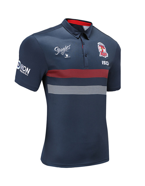 Sydney Roosters 2020 ISC Mens Media Polo