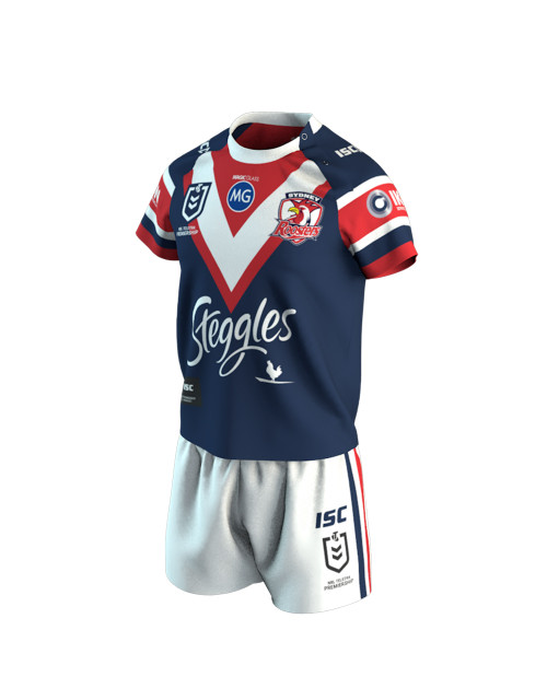Sydney Roosters 2020 ISC Toddlers Home Jersey Set