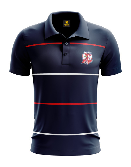 Sydney Roosters 2020 Authentica Mens Club Performance Polo