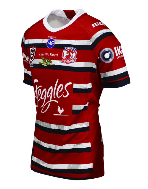 Sydney Roosters 2020 ISC Kids ANZAC Jersey