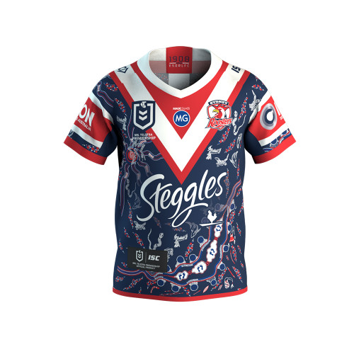 Sydney Roosters 2020 ISC Kids Indigenous Jersey