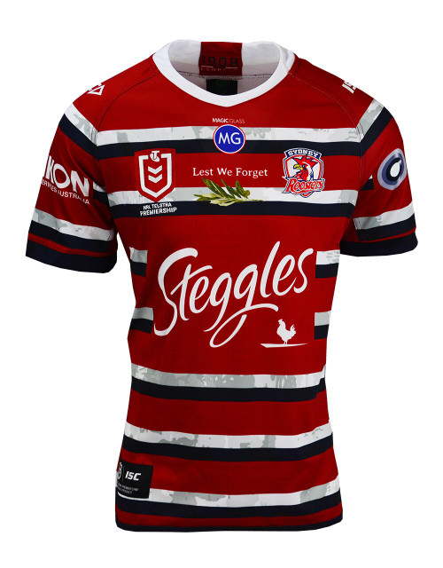 Sydney Roosters 2020 ISC Womens ANZAC Jersey