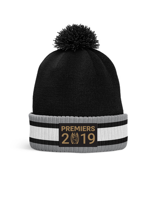 Sydney Roosters 2019 Classic Premiers Beanie Black