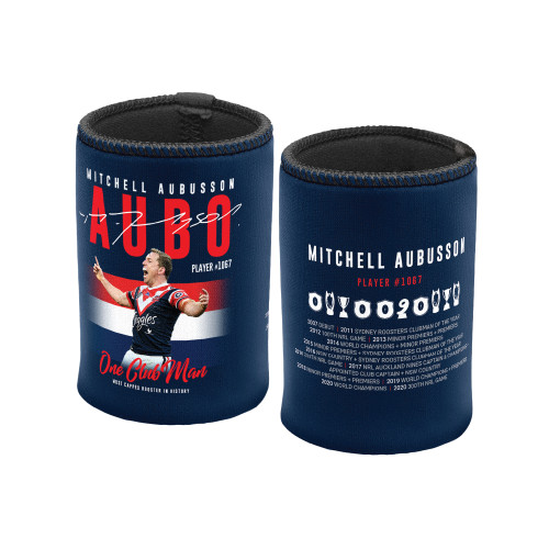 Sydney Roosters 2020 Mitchell Aubusson Can Cooler