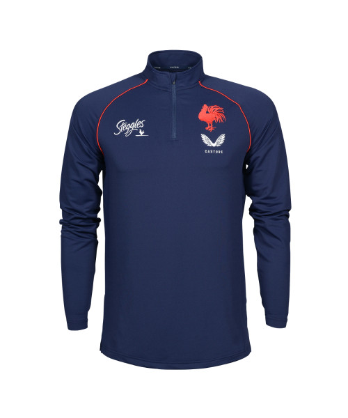 Sydney Roosters 2021 Castore Mens 1/4 Zip Training Top