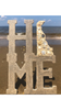Delaware Beaches® Sand and Shells HOME Plaque