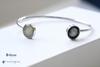 Dune and Moonglow Lunar Tide Cuff Bracelet