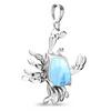 Marine Life Crab Necklace