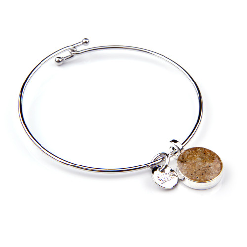 Round Dune Sand Bangle - You Pick the Sand!  Over 3,800 sands available