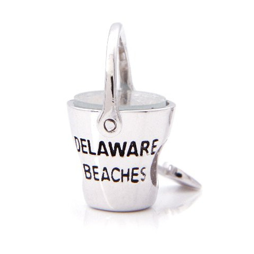 Delaware Beaches® Diamond State Sand Bucket Bead