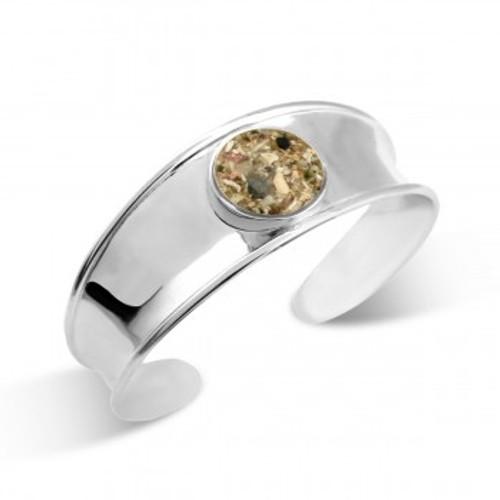 Dune Sterling Silver Bayview Cuff Bracelet