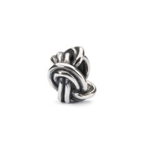 Trollbeads Sterling Silver Savoy Knot Bead