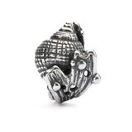 Trollbeads Sterling Silver Hiding Conch Bead