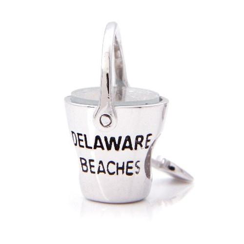 Delaware Beaches® Sand Bucket Bead (w/ center hole for Bracelets)