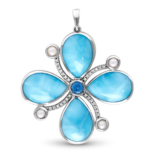 Bella Larimar Necklace