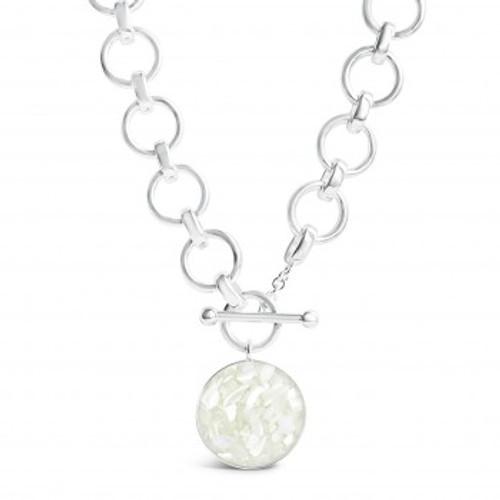 Sterling Silver Dune Mediterranean Necklace