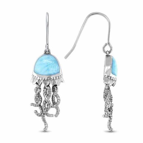 Marahlago Jellyfish Larimar Earrings
