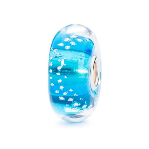 Trollbeads Silver Trace Turquoise Bead