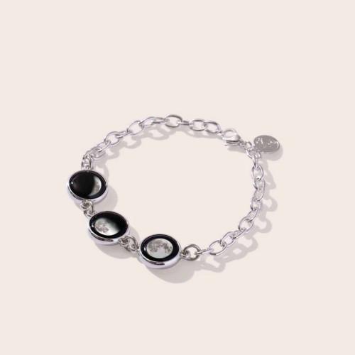 Moonglow Moondrop Simplicity 3-Charm Bracelet