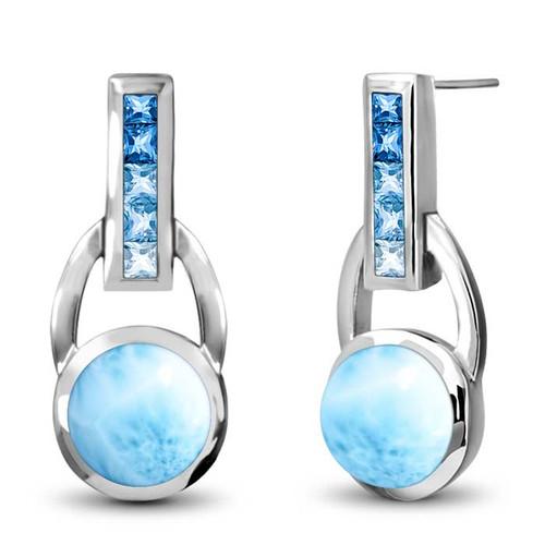 Marahlago Aqua Earrings