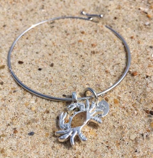 Delaware Beaches® Dune Sand Crab Bangle