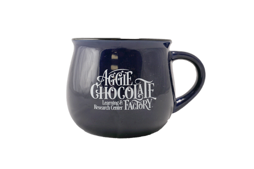 Aggie Chocolate Factory Mug - Navy Blue