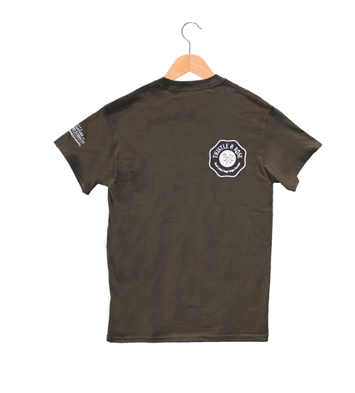 Aggie Chocolate Factory T-Shirt - Chocolate Brown