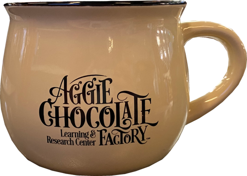 Aggie Chocolate Factory Mug - Cream