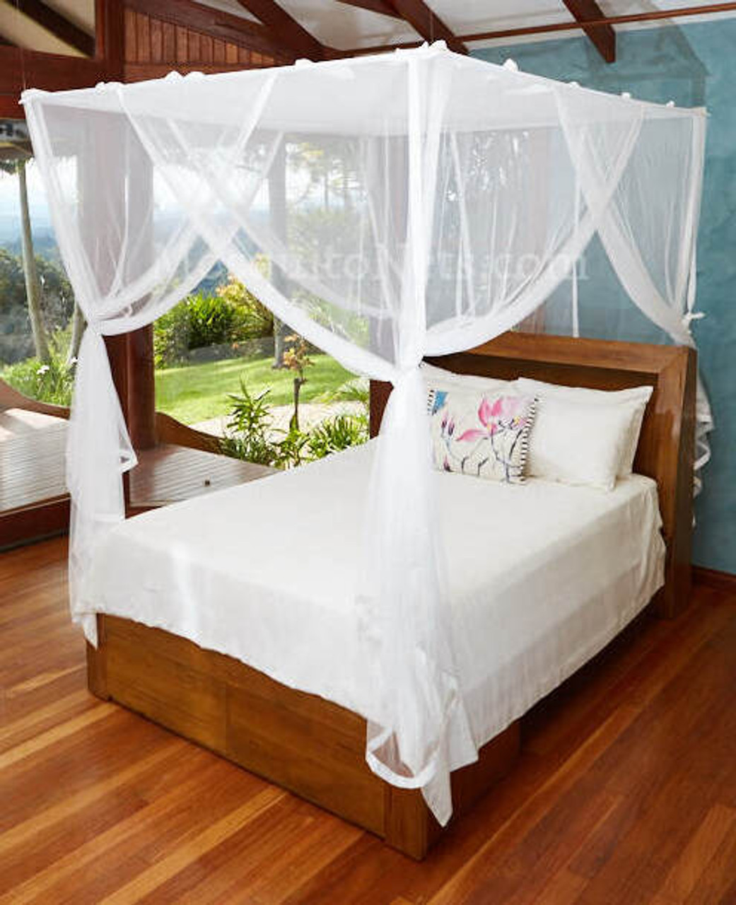 Mosquito Net King California King Size Box Shape King Bed Net And Canopy