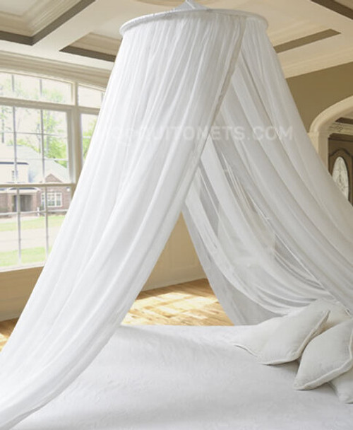 Pure 100% Silk Classic Bed Canopy QUEEN / KING