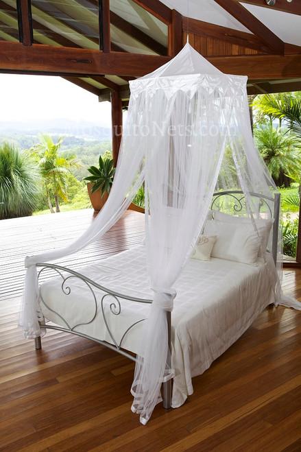 Temple mosquito net