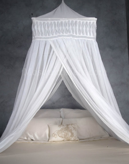Cotton Mosquito Net Temple. KING-QUEEN