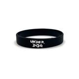 UNDERDOG Silicone Bracelet (Black)