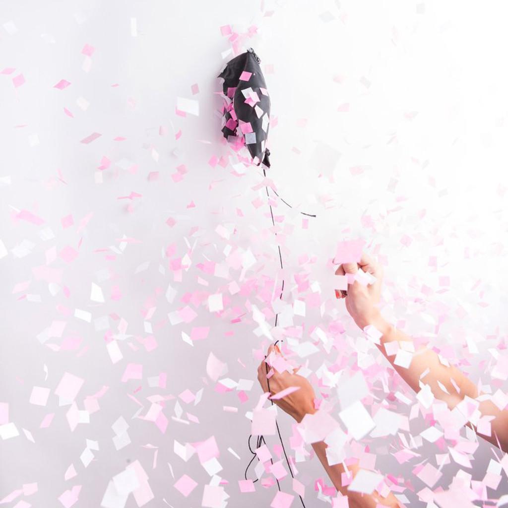 Gender Reveal Confetti Balloon, Pink