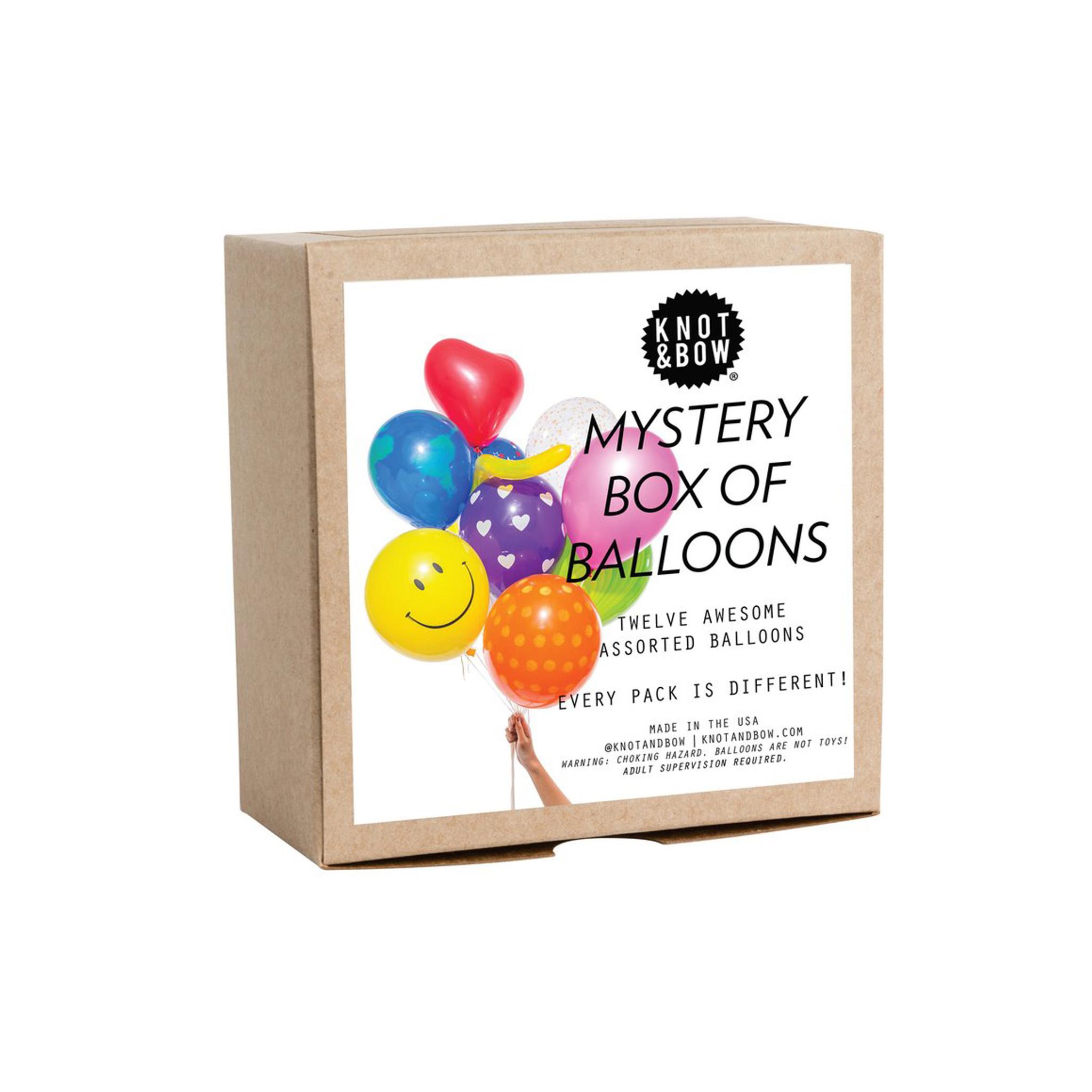 Mystery Box of Balloons