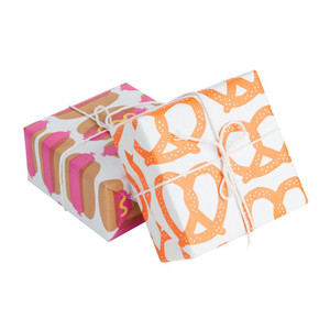 Gift Wrap, Pretzels